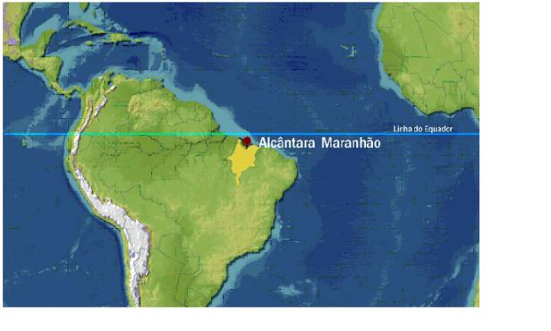 Resultado de imagem para base espacial de Alcântara